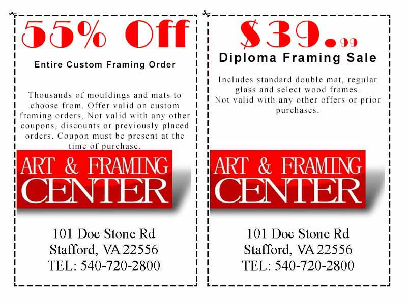 Coupon - Art & Framing Center